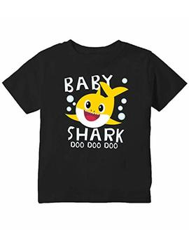 Baby Shark Doo Doo Doo Cute Toddler T Shirt by Priority Apparel