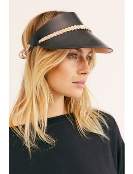 Curi Braided Leather Visor by Siblings Army