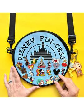 Preorder, Pastels, Pin Cess, Pin Collector, Cross Body Bag, Disney Girl, Mickey, Disney Pins, Enamel Pins, Flair by Etsy