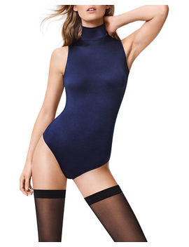 Wolford Sonja Turtleneck String Back Bodysuit by Wolford