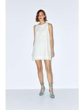 Textured Weave Dress New Inwoman by Zara