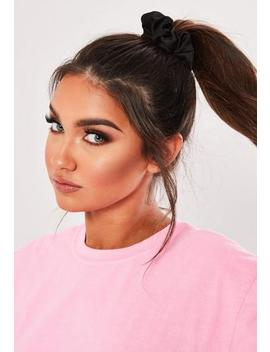 Black Hair Scrunchie by Missguided