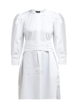 Galaxy Belted Cotton Shirt Dress by Isabel Marant