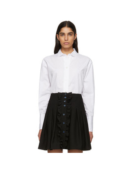White Classic Shirt by Alexachung