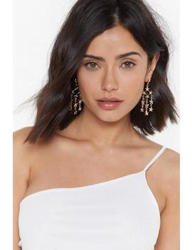 Meteor Shower Star Chandelier Earrings by Nasty Gal