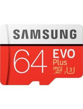 Evo Plus 64 Gb Micro Sdxc Uhs I Memory Card by Samsung