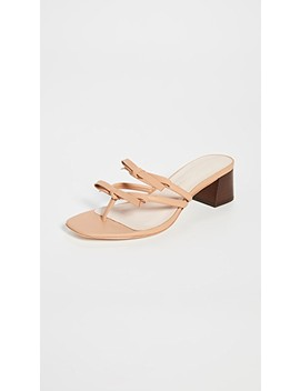 Jean Delicate Strap Thong Mules by Loeffler Randall