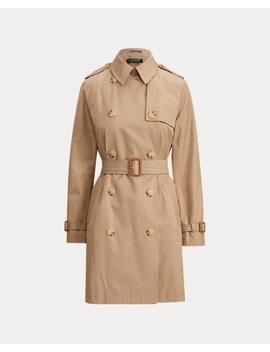Belted Trench Coat by Ralph Lauren
