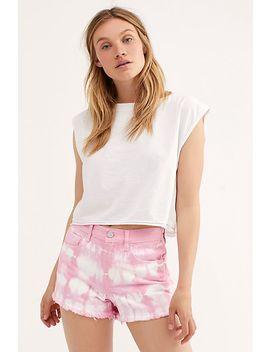 Blank Nyc Tie Dye Shorts by Blank Nyc