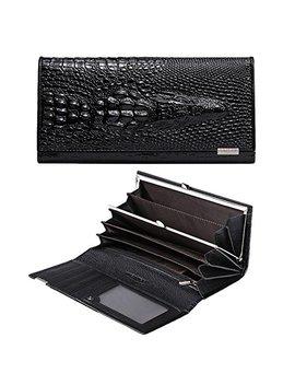 keyigou-leather-clutch-wallets-for-women---rfid-blocking-wallet-multi-card-holder-organizer-lady-long-handbag by keyigou