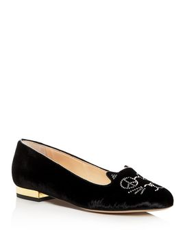 Women's Peaceful Kitty Flats by Charlotte Olympia