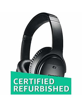 bose-quietcomfort-35-(series-ii)-wireless-headphones,-noise-cancelling---black-(renewed) by amazon-renewed