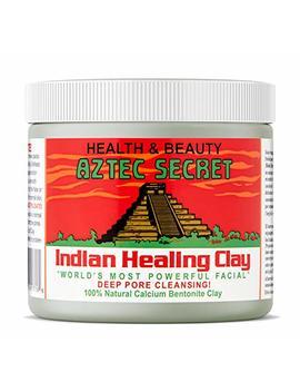 Aztec Secret   Indian Healing Clay   1 Lb. | Deep Pore Cleansing Facial & Body Mask | The Original 100% Natural Calcium Bentonite Clay – New! Version 2 by Aztec Secret
