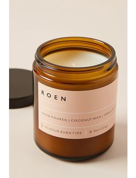 Roen Amber Jar Candle by Roen