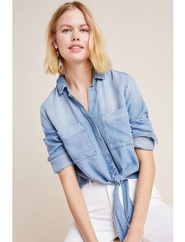 Cloth & Stone Newtown Chambray Buttondown by Cloth & Stone