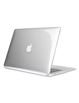 Fintie Mac Book Air 13 Inch Case   Fits Previous Generations A1466 / A1369 (Will Not Fit 2018 Mac Book Air 13 With Touch Id A1932), Slim Snap On Hard Shell Protective Cover, Crystal Clear by Fintie