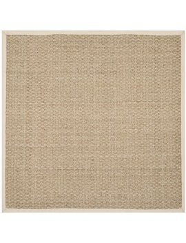 Safavieh Natural Fiber Marina Natural/ Ivory Seagrass Rug by Safavieh