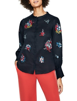 Claudia Embroidered Blouse by Boden