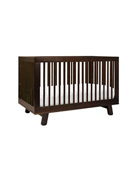Babyletto Hudson 3 In 1 Convertible Crib With Toddler Bed Conversion Kit, Espresso by Babyletto