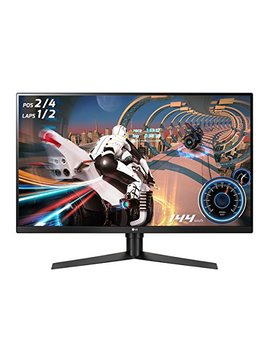 "Lg 32 Gk650 F B 32"" Qhd Gaming Monitor With 144 Hz Refresh Rate And Radeon Free Sync Technology by Lg"