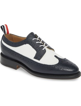 Brogued Longwing Oxford by Thom Browne