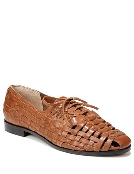 Rishel Woven Leather Lace Up Oxfords by Sam Edelman