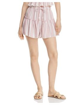 Striped Drawstring Shorts by Rahi