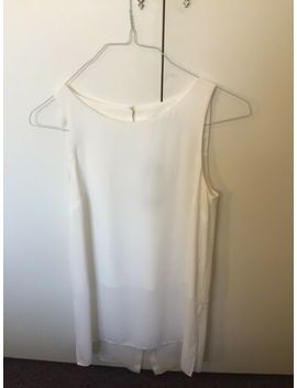 Portmans New With Tags Long Top Size 8 White by Portmans