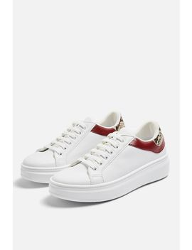 Cuba Lace Up Trainers by Topshop