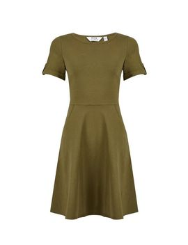 Petite Khaki T Shirt Dress by Dorothy Perkins