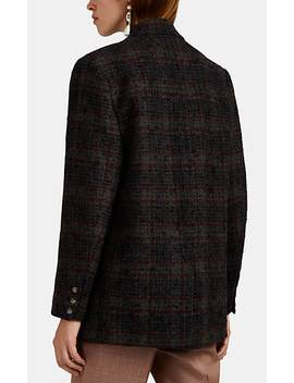 Korix Plaid Wool Bouclé Tweed Blazer by Isabel Marant Étoile