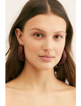 Fez Hoop Earrings by Free People