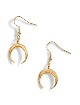 Ten97 La Crescent Moon Earrings by Ten79 La