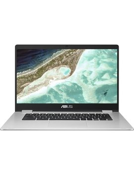 "15.6"" Chromebook   Intel Celeron   4 Gb Memory   32 Gb E Mmc Flash Memory   Silver by Asus"