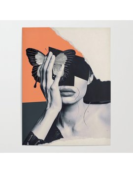 Collage Art / Butterfly Poster by Society6