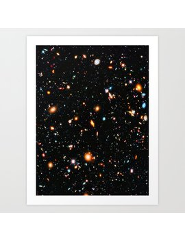 Hubble Extreme Deep Field Art Print by Society6