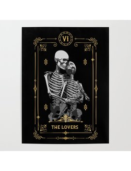 The Lovers Vi Tarot Card Poster by Society6