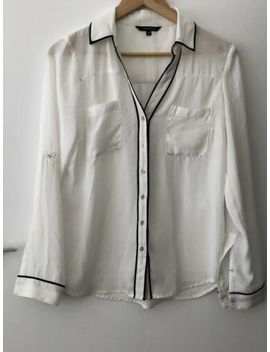 Portmans Size 8 Shirt  White Corporate Work by Portmans