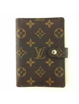 E0607 Authentic Louis Vuitton Agenda Pm R20005 by Louis Vuitton