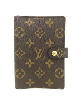 100% Authentic Louis Vuitton Monogram Agenda Pm Notebook Cover /Ee803 by Ebay Seller