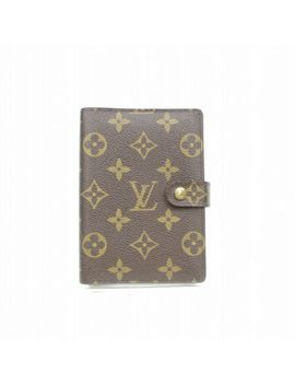 Authentic Louis Vuitton Diary Cover Agenda Pm Browns Monogram 369350 by Louis Vuitton