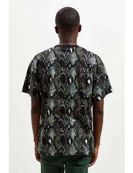 Uo Snake Pattern Dad Tee by Urban Outfitters