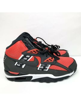 Nike Air Trainer Sc High Bo Jackson Soa Size 9.5 Black Red Aq5098 600 B Grade by Nike