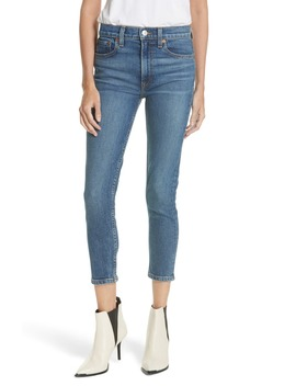 Originals High Waist Stretch Crop Jeans by Re/Done