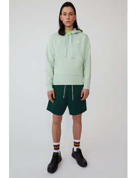 Hooded Sweatshirt Pistachio Green by Acne Studios