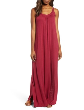Twist Neck Maxi Dress by Caslon®