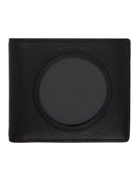 Black Transparent Bifold Wallet by Maison Margiela