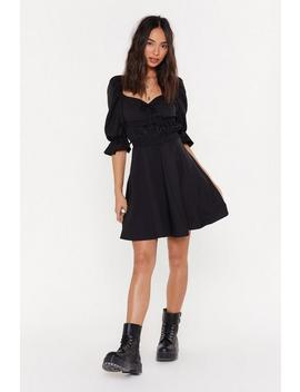 Square Neck Dress by Nasty Gal