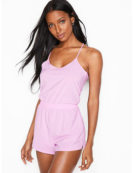 Keyhole Romper by Victoria Sport