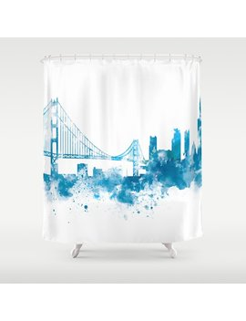 San Francisco Shower Curtain by Society6